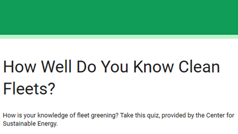 Quiz: How Well Do You Know Clean Fleets?