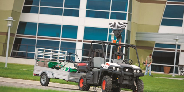 The Bobcat 3400 4x4 utility vehicle (UTV) is available in both gas and diesel options. A Bobcat...