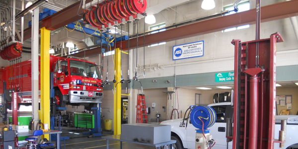 All four fleet technicians at the Town of Castle Rock, Colo., are ASE-certified, helping the...