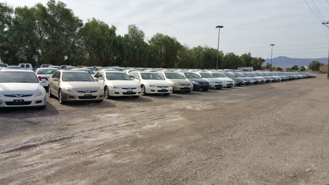 Clark County, Nev., auctions off its own vehicles as well as those of other local and state...