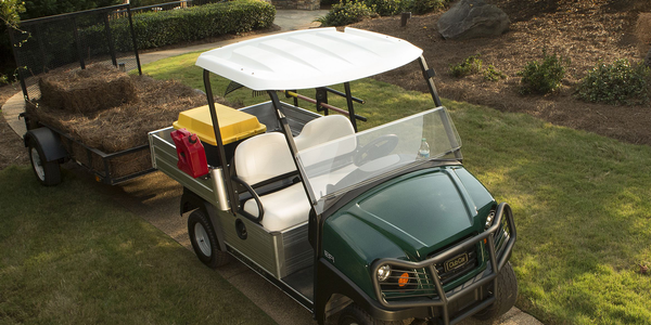 According to Club Car's Mike Cotter, the manufacturer's aircraft-grade aluminum frames are...