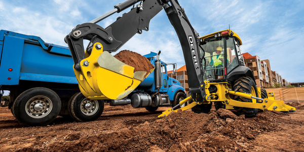 John Deere L-Series backhoes now offer precision mode, enhanced pilot controllers, two new rear...