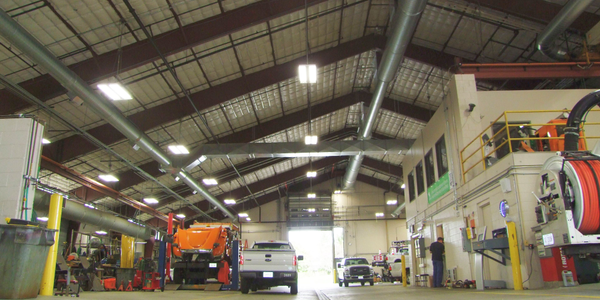 The City of Dublin, Ohio, upgraded its maintenance facility to allow technicians to safely work...