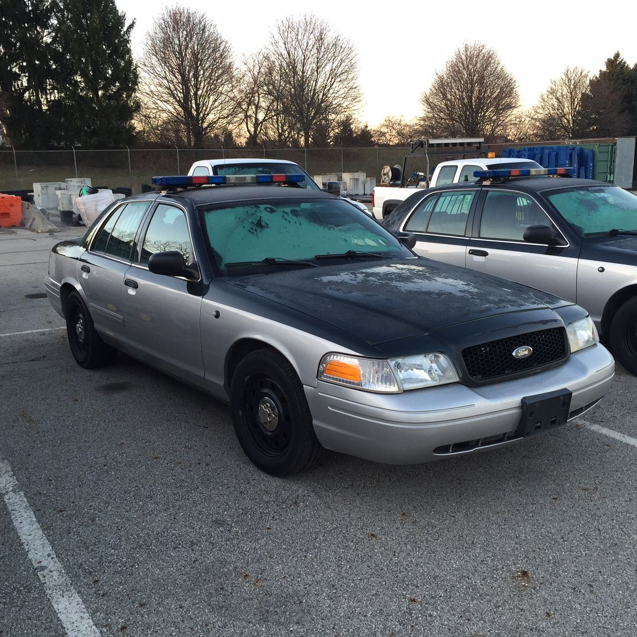 Putting Police Cars Up for Sale