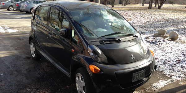 The State of Illinois distributed its Mitsubishi i-MiEV vehicles to agencies with large...