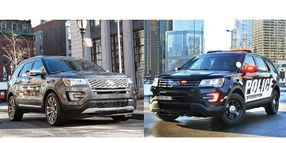 Police Interceptor Utility vs. Ford Explorer