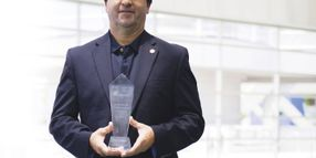 Winning the 2014 Public Sector Fleet Manager of the Year Award