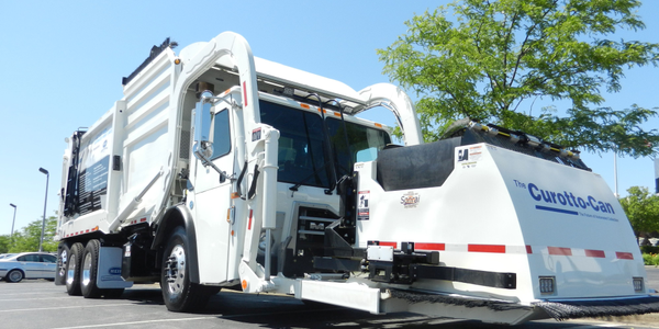 The Heil Odyssey Freedom front loader has a low body weight, which allows it to haul more trash,...