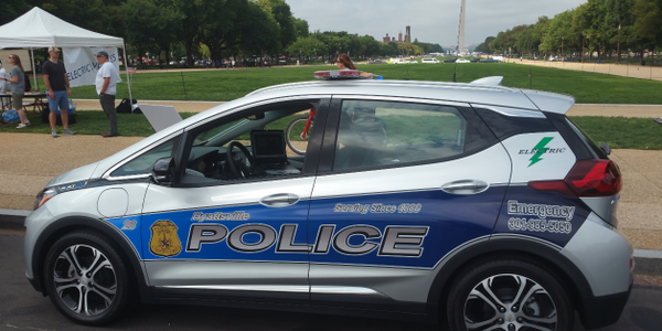 Hyattsville Police unveiled its newest patrol car at local car shows during National Drive...