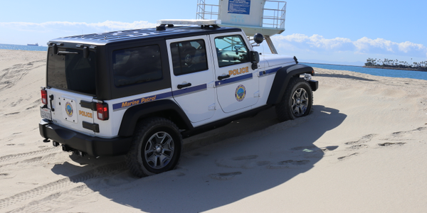 In the City of Long Beach, beach patrol vehicles and washed every day and inspected regularly....