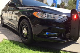 Ford's Police Responder Hybrid Sedan Doubles Fuel Efficiency
