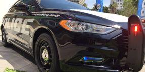 Ford's Police Responder Hybrid Sedan Doubles Fuel Efficiency