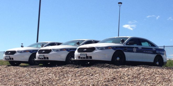 Arapahoe County has specific equipment needs for its sheriff's vehicles, making it costly to buy...