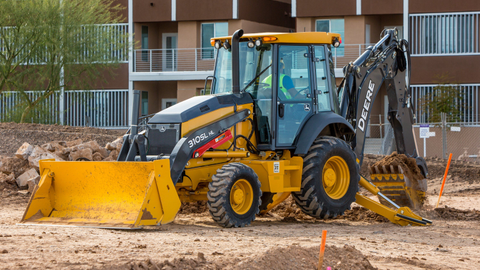 The 310SL HL backhoe loader can be used to load trucks, break blacktop, place pipes, dig...