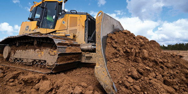 The John Deere 750K and 850K SmartGrade crawler dozers are each equipped with a 6.8L Tier 4...