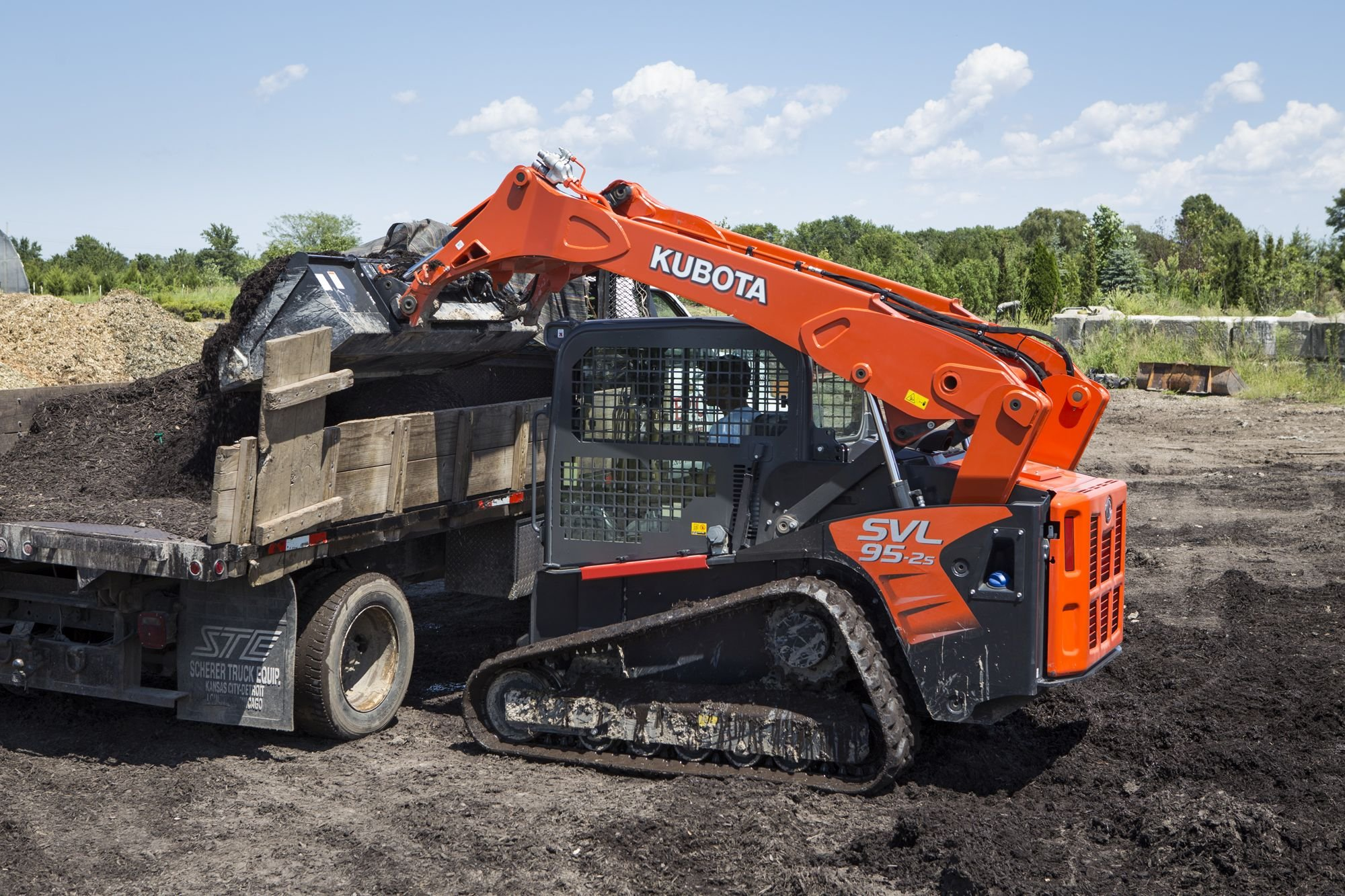 Kubota's Compact Track Loader Provides Multitasking Muscle