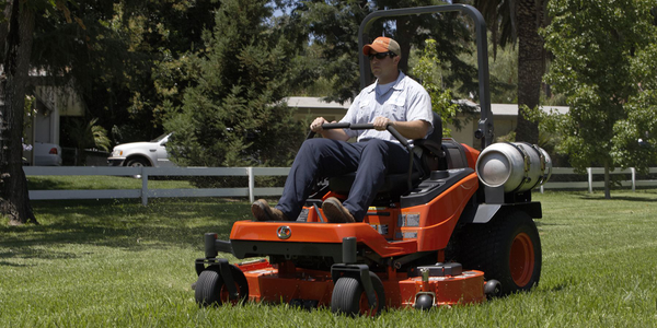 The Kubota ZP330 liquid-cooled propane-powered engine delivers eco-friendly performance with...