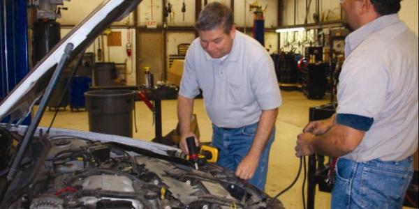 Michael DePaulo (left) received the American Public Works Association (APWA) Arizona Chapter...