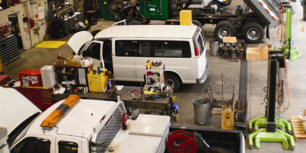 With a 500-unit fleet, Pierce County's 25-member fleet team serves several county agencies,...