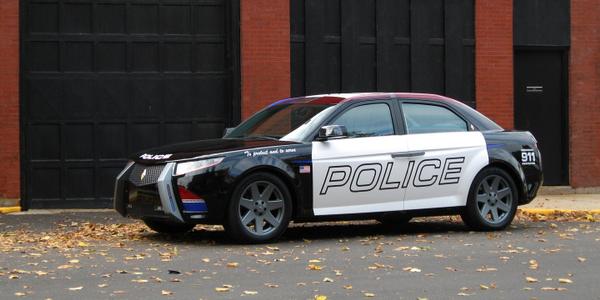 Carbon Motors E7 Concept Vehicle