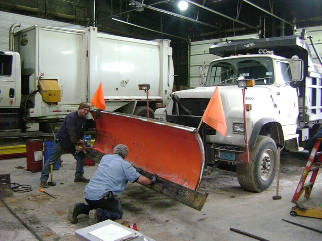 Snowstorms Have City Fleets Working Overtime