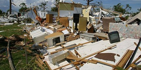 Hurricane Ike destroyed much of what was in its path.