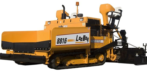 The LeeBoy 8816B features a Tier 3 130 hp Cummins turbodiesel engine.