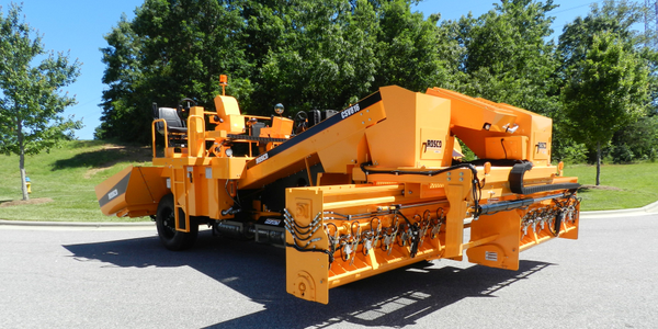 The LeeBoy CSV816 is the market's first Tier 4 Final variable width chip spreader, according to...