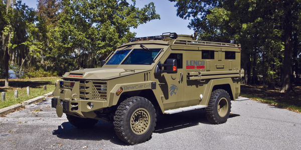 The BearCat G3 provides 0.50 caliber armor protection with high ground clearance for aggressive...