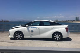 Calif. Fleets Add Toyota Mirai Fuel Cell Sedans