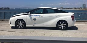 Calif. Fleets Add Toyota Mirai Fuel Cell Sedans