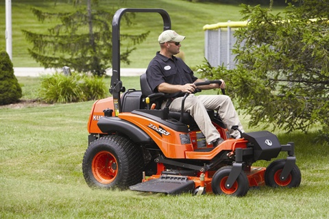 The ZD323 features a 60-inch mower with 6.5-inch-deep design.