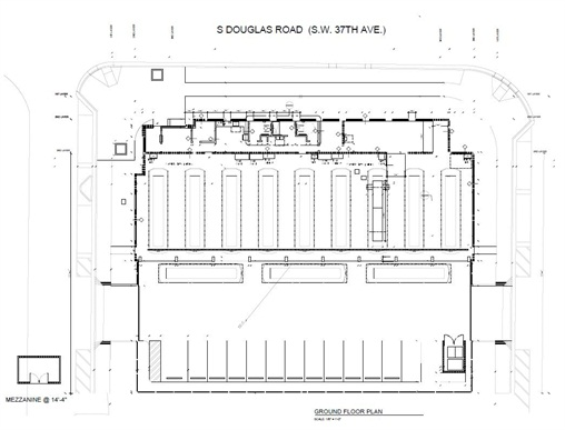The author worked with architects in the design of the City of Coral Gables' new bus maintenance facility. Pictured is a diagram of the facility. Image courtesy of the City of Coral Gables, Fla.