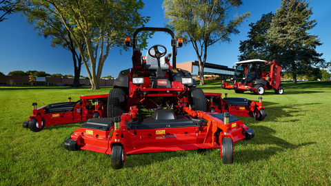 The redesigned Toro Groundsmaster 5900/5910 large-area mower boasts a 16-foot cutting width,...
