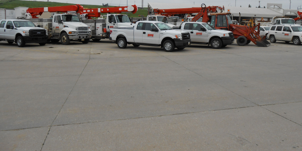 The Omaha Public Power District fleet consists of 1,441 vehicles and equipment. Mike Donahue,...