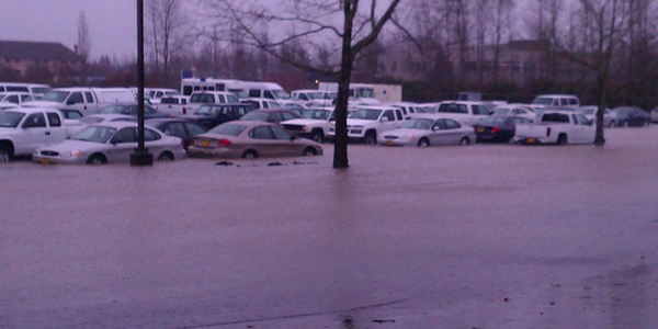 A January 19 flood damaged 160 state vehicles in Salem. Click on this image to see more photos...