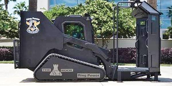 Photo of Rook vehicle courtesy of Ring Power.