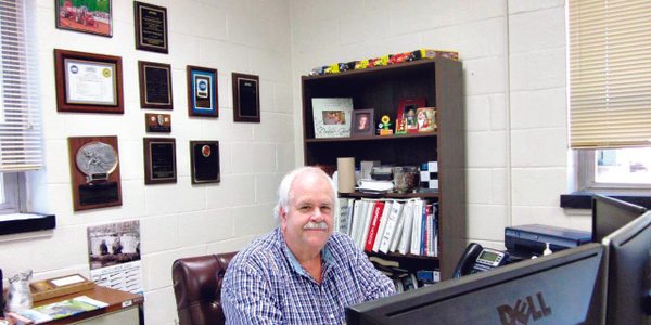 Randy Paschal worked on school buses for years before becoming the fleet maintenance...