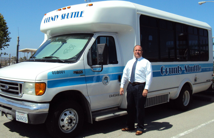 At Monterey County, Calif., Fleet Manager Dennis Scamardo, CAFM, is trying to right-size the fleet. Photo courtesy of Monterey County -