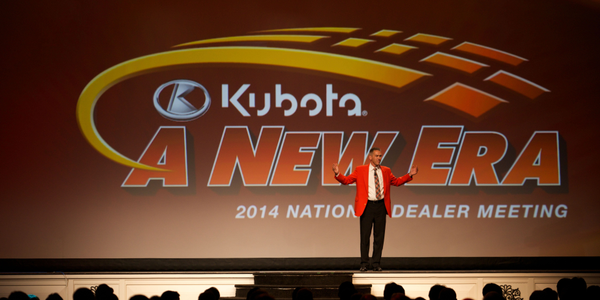 Todd Stucke, Kubota vice president, agriculture and turf division, said the company added three...