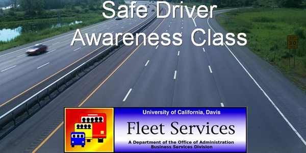 More campus employees have been taking the Web-based version of UC Davis' driver safety training...