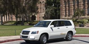 A Hydrogen-Fueled Future? UCLA's Hydrogen Vehicle Testing