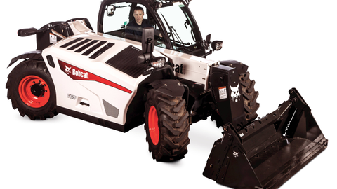 The V519 VersaHandler telescopic tool carrier features a two-stage boom with a reach of more...