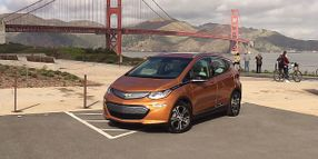 Chevrolet Bolt EV Electrifies Public Fleets