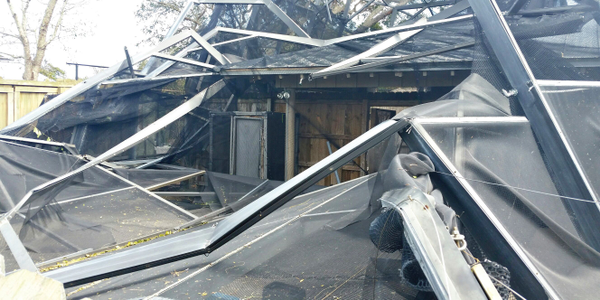 Even with preparation, not all buildings are disaster-proof. The Volusia County (Fla.) marine...