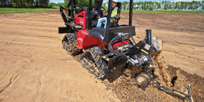 Toro Riding Trencher Now Available with Cab