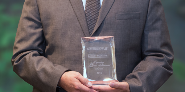 Robert Martinez received the Legendary Lifetime Achievement Award at the Government Fleet Expo &...