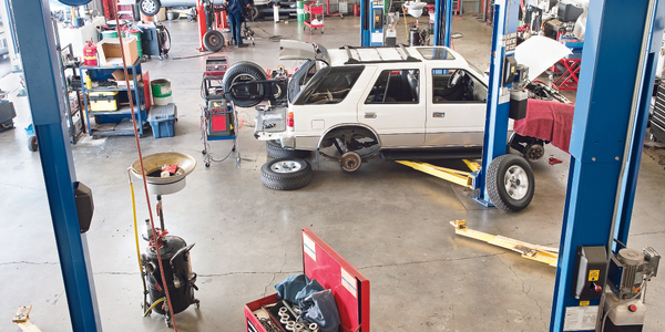 Having the right shop equipment can improve productivity and safety. Photo via istockphoto.com