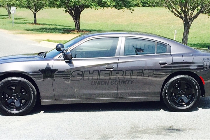 - Photo of ghost police car courtesy of the Union County Sheriff's Office