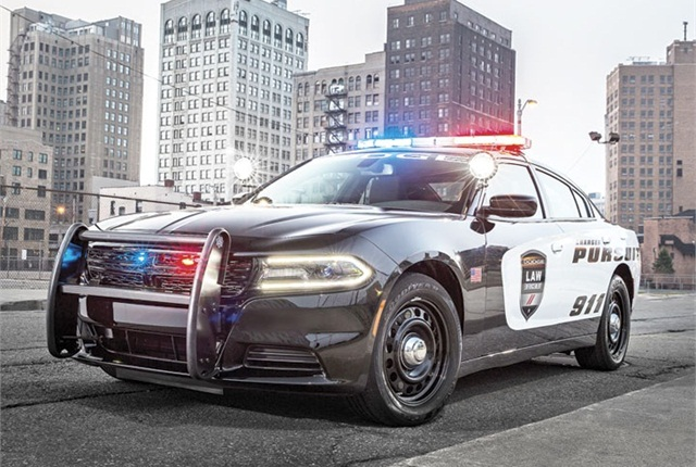 Photo of Dodge Charger Pursuit courtesy of FCA.